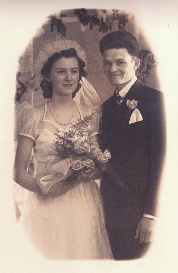 Mildred-&-Bill-Wedding
